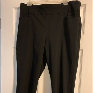 Black Dress capris size 16